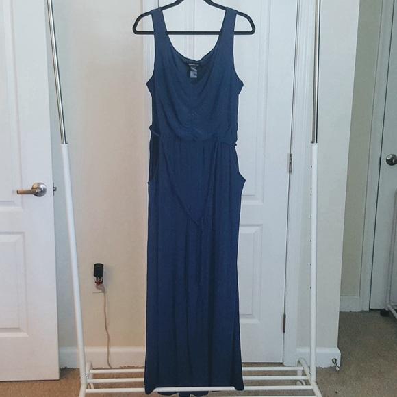 03565ce49dc Ashley Stewart Royal Blue Jumpsuit Size 2X